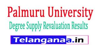 Palmuru University Degree Supply Revaluation Results 2017
