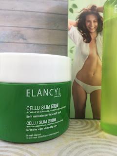 Elancyl Eau D'Eclat body mist and Cellu Night Slim
