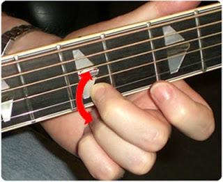 teknik belajar melodi gitar vibrato