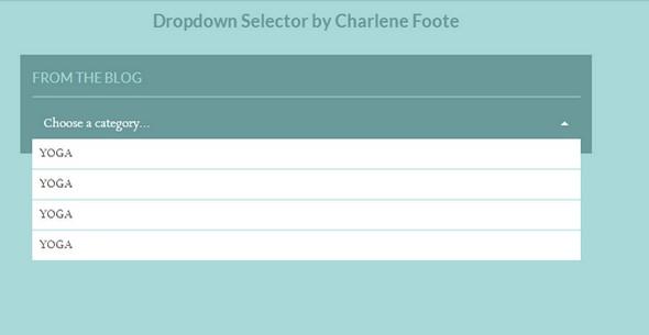 DropDown Menus HTML5 CSS3 jQuery Free - دروس4يو Dros4U