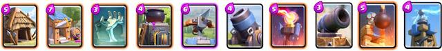 estructuras de clash royale