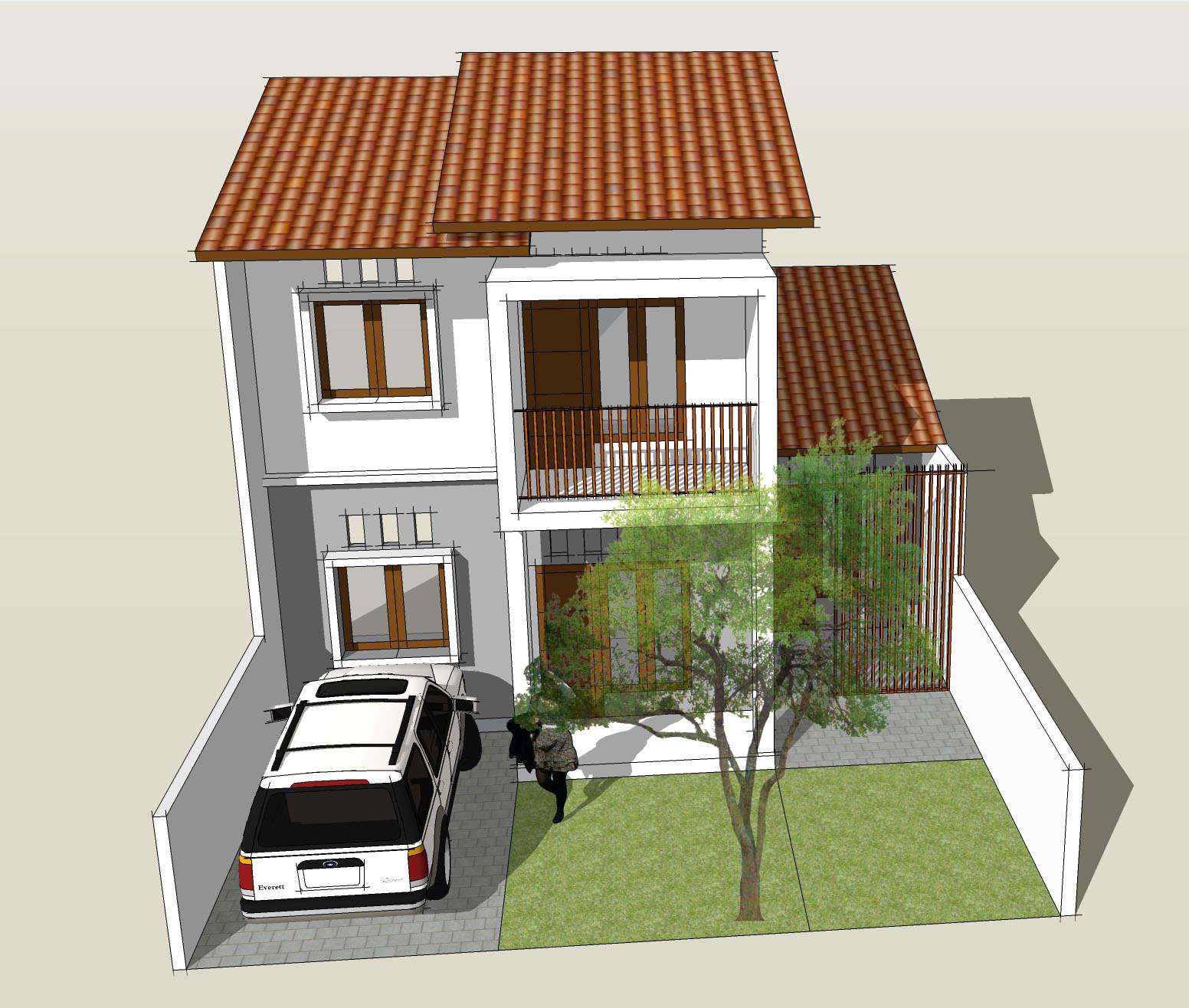 Contoh Desain Rumah Minimalis Sederhana Tingkat