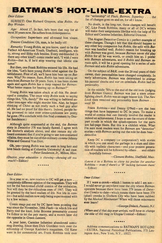 Detective Comics (1937) 383 Page 31