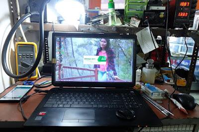 Service Laptop Toshiba J550 mati total