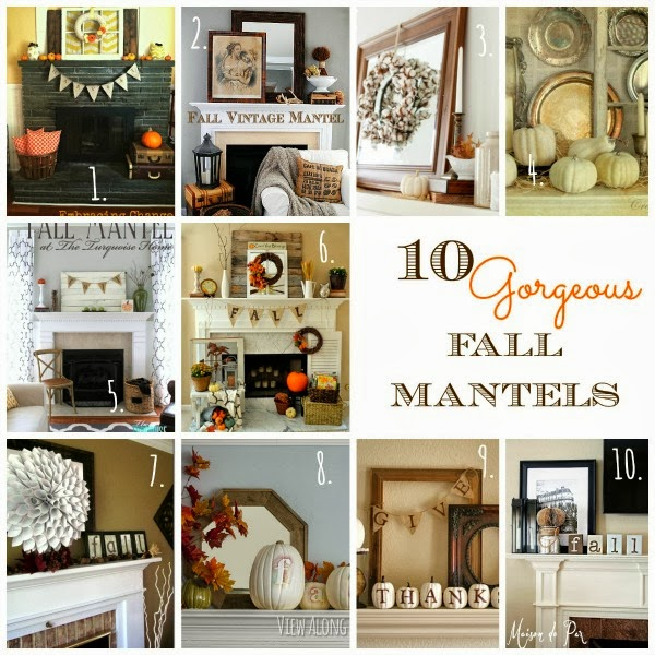 10 Gorgeous Fall Mantels