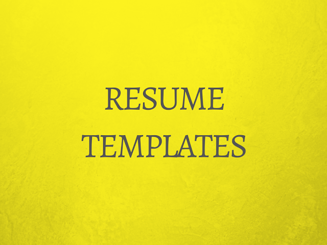 30+ Free Resume Templates To Download