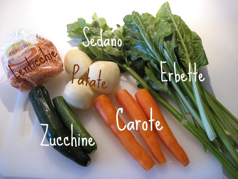 Brodo vegetale o passato di verdure
