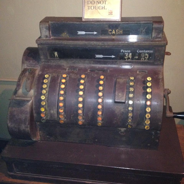old cash register at the Museo Parian sa Sugbo