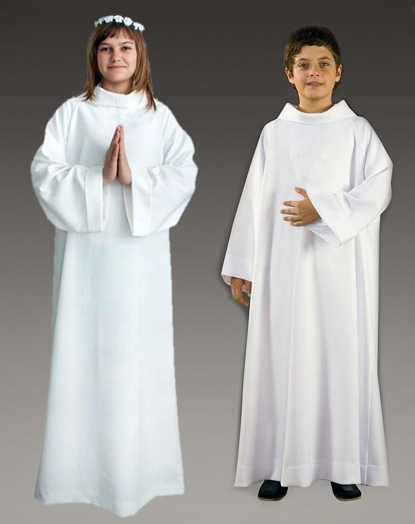 932e69d32 Retomar la vestidura blanca en la Primera Comunión, además de práctico (nos  puede ahorrar mucho dinero y nos iguala), nos ayuda a todos a centrarnos en  el ...