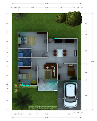 cara menyiasati ruang tamu yang sempit, cara menyiasati kamar sempit, menyiasati rumah kecil agar terlihat luas