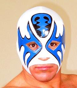 mascara de luchador atlantis