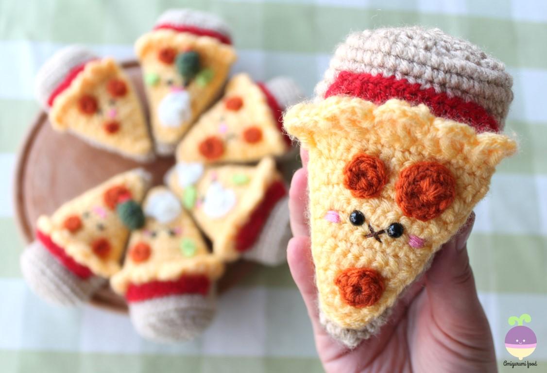 Amigurumi Food : Amigurumi Food: Combo Pizza Night + Beer!! New Crochet ...