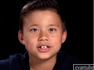 Evan un Youtuber muy joven