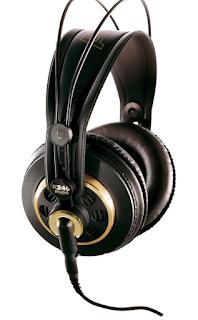 AKG K240 studio Headphone bagus nggak buat mixing, Flat ?