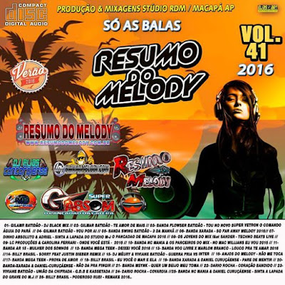 Cd Resumo do Melody vol.41