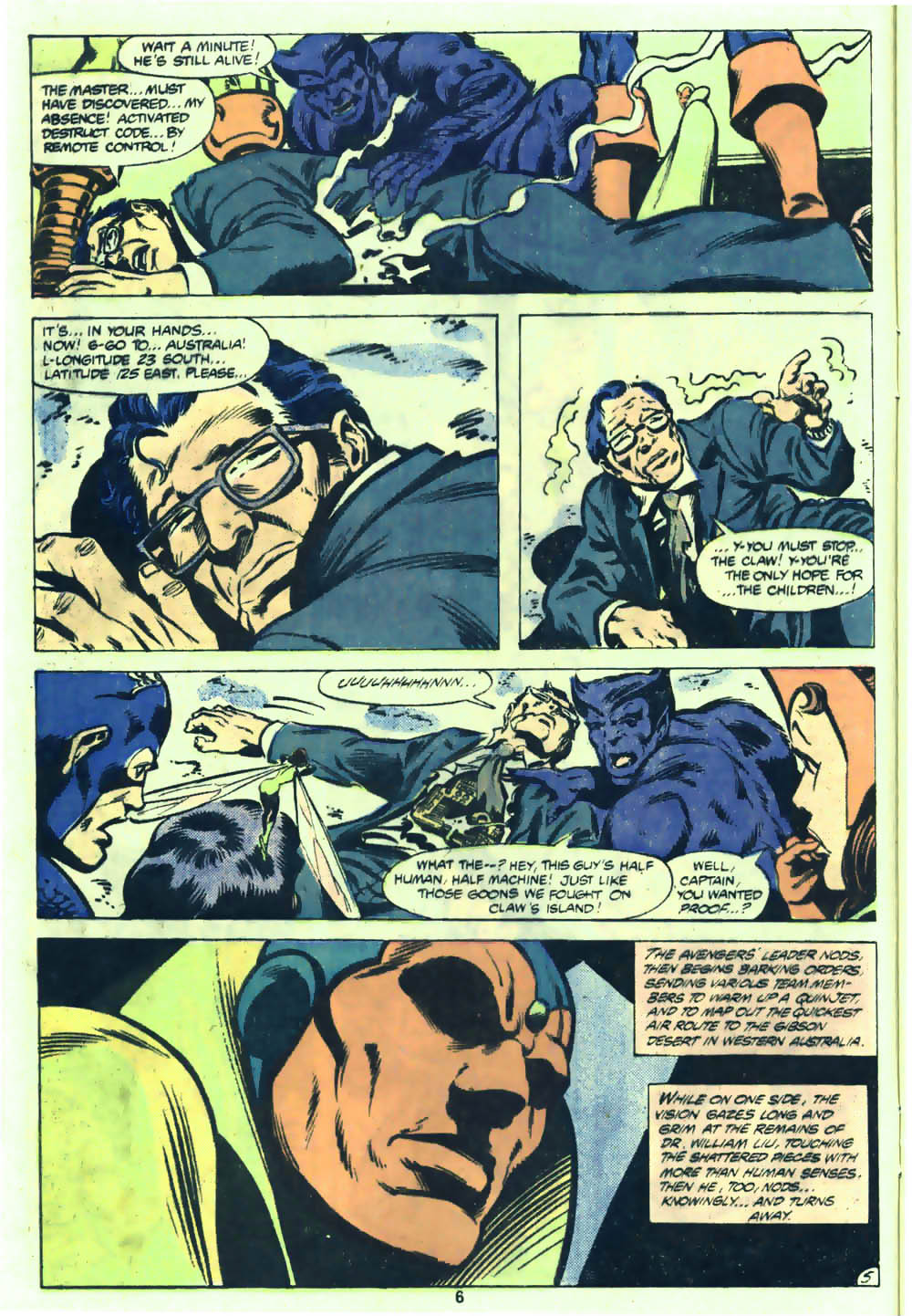 The Avengers (1963) 205 Page 5