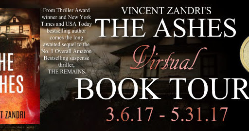 **Giveaway** The Ashes by Vincent Zandri **Review**