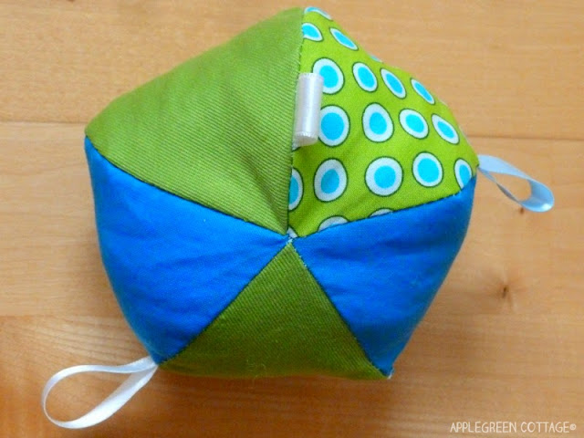 how to sew a soft ball