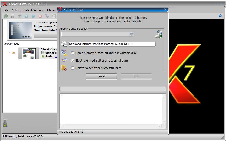 ConvertXtoDVD 7.0.0.68