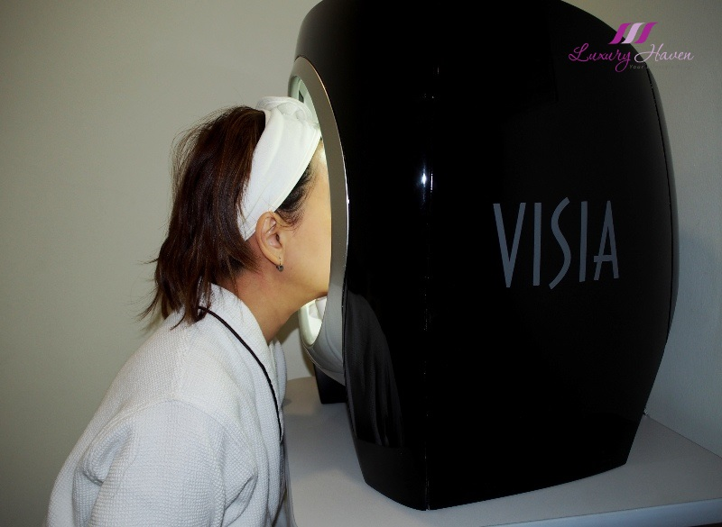 eha skincare aesthetics clinic visia analysis