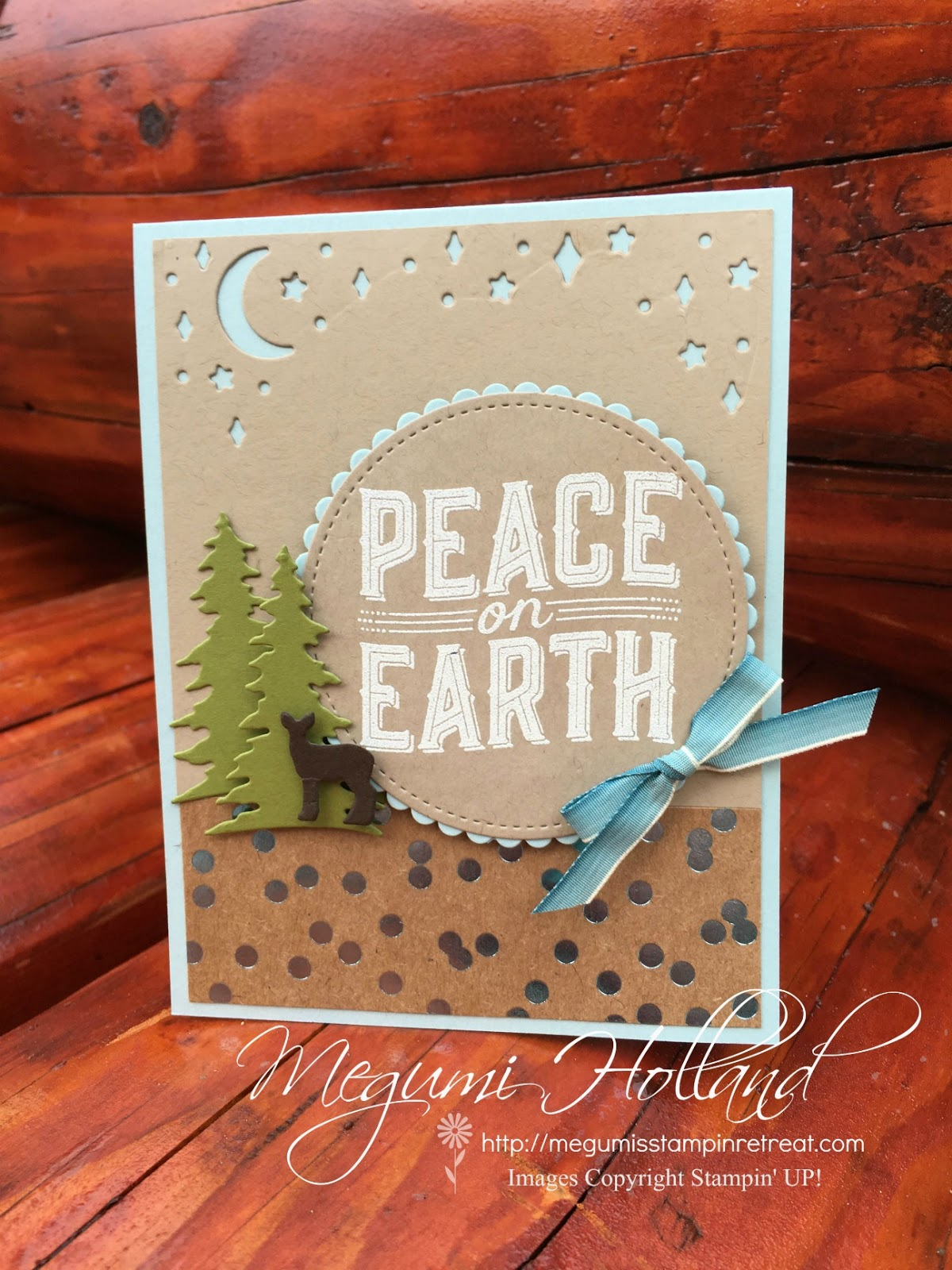 Megumi\'s Stampin Retreat: Carols of Christmas Peace on Earth Card ...