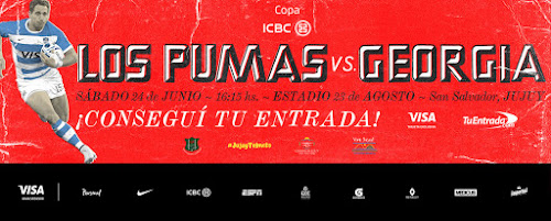 Entradas a la venta para ver a Los Pumas en Jujuy