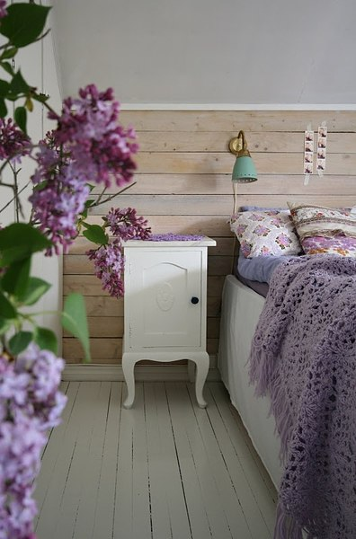 Violet Room Design: Home Decorating In Violet Color