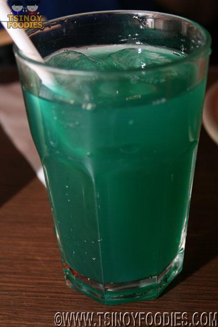 blue iced tea
