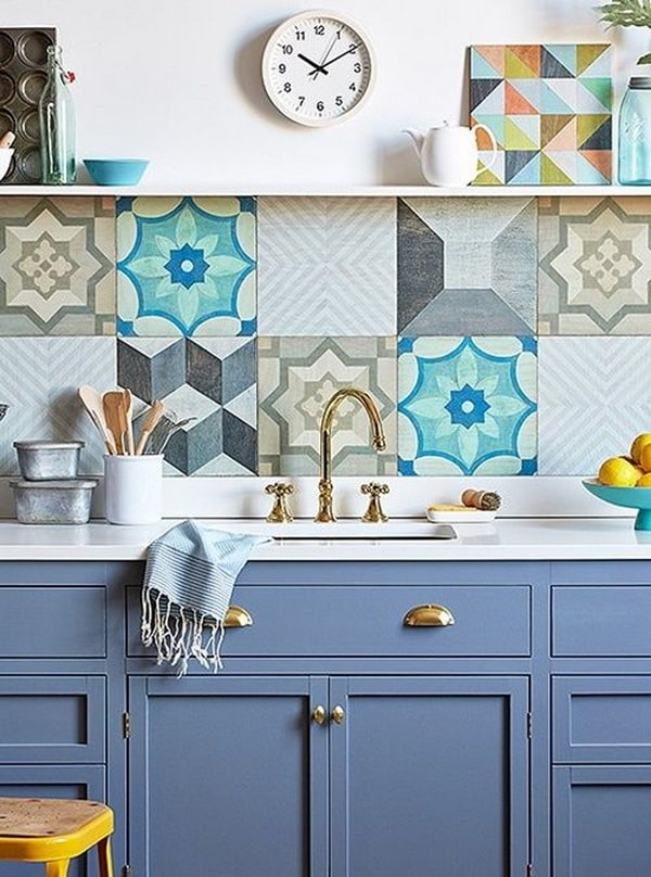 Ideas For Decorating With Cement Tiles or Hydraulic Tiles 10