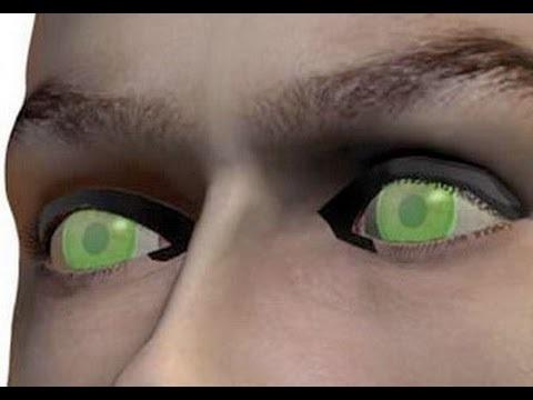 Sử dụng kính áp tròng nhìn xuyên bát đen