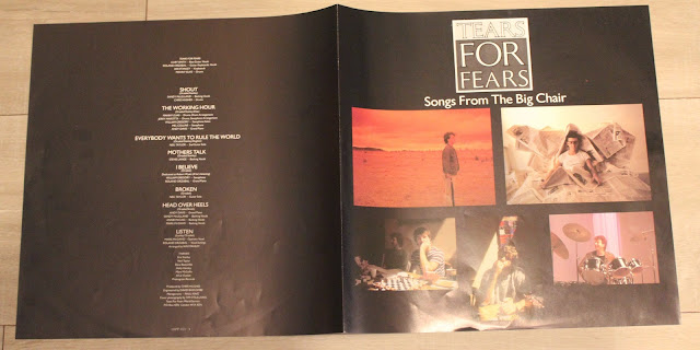 TEARS FO FEARS Songs from the big chair