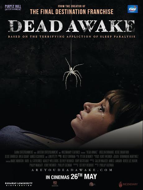 Dead Awake (2017) ταινιες online seires xrysoi greek subs