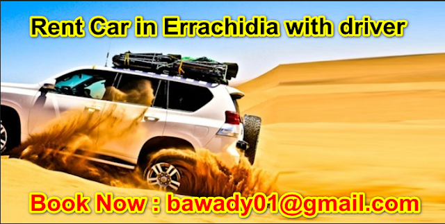 Rent Car in Errachidia with driver