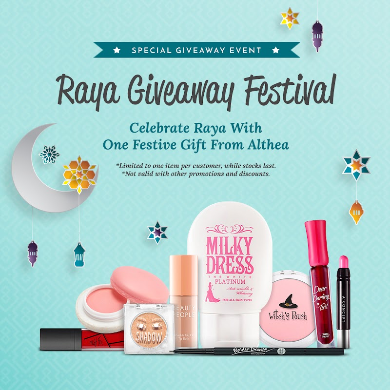 ALTHEA's Raya Giveaway Festival