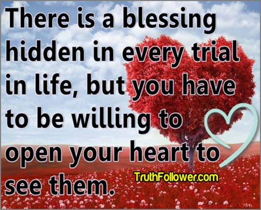 hidden blessing inspirational life quotes
