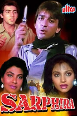 Sarphira 1992 Hindi WEB HDRip 480p 450mb