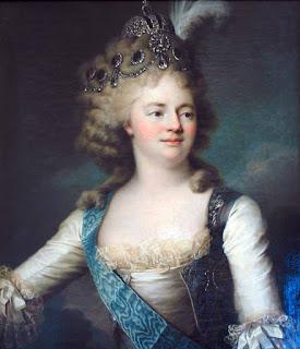 Вуаль Жан Луи Jean-Louis Voille «Портрет великой княгини Марии Фёдоровны»