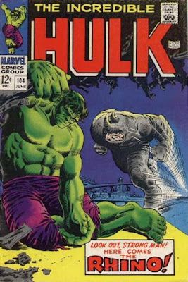 Incredible Hulk #104, the Rhino