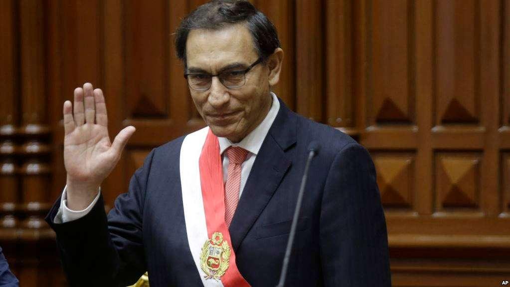 Vizcarra era embajador en Canadá, como primer vicepresidente, cuando PPK renunció / AP