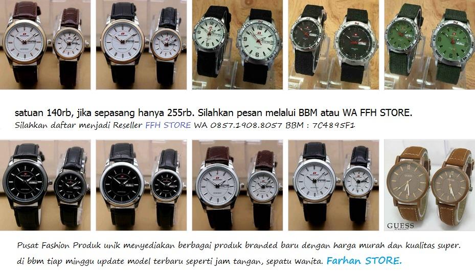 jam tangan couple keren sepasang terjankau