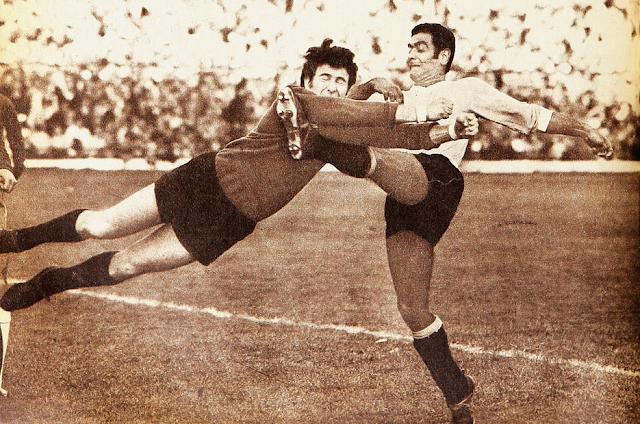 Chile y Uruguay en Clasificatorias a México 1970, 13 de julio de 1969
