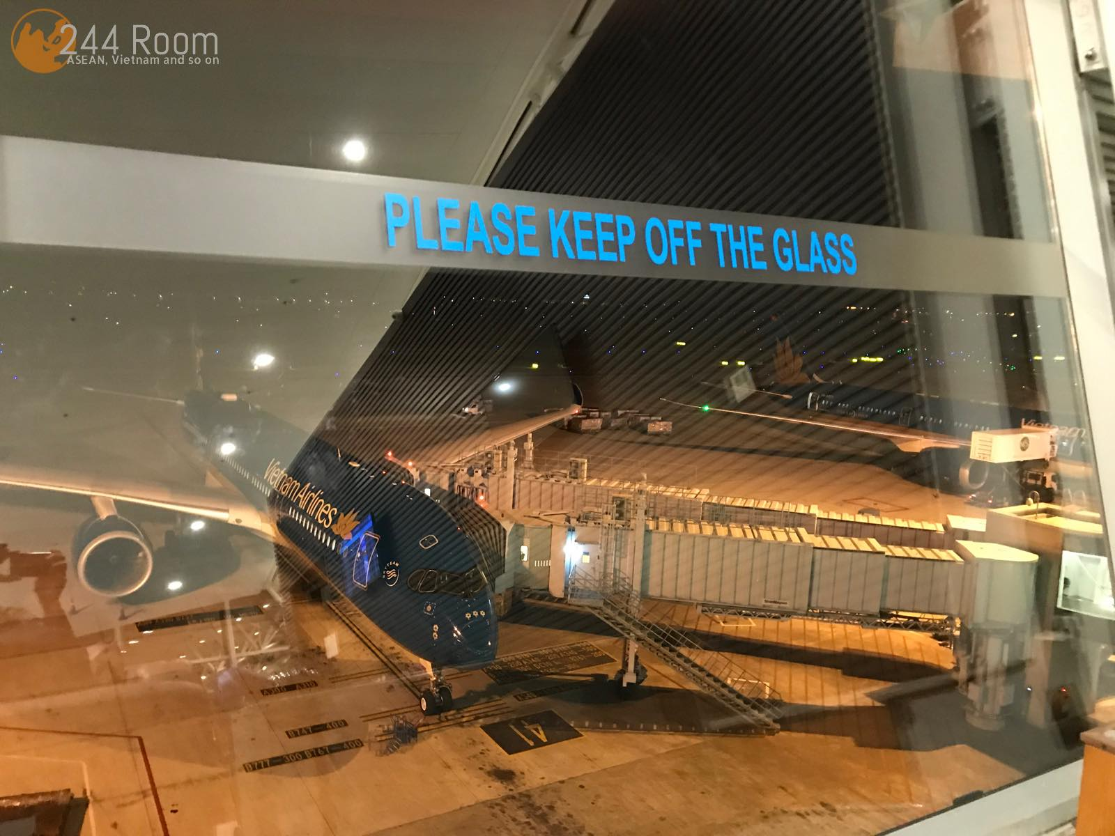 Noibai Airport Lounge ノイバイ空港ラウンジ2