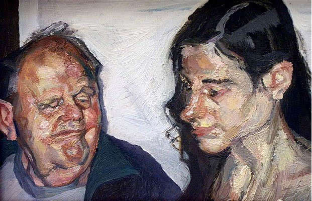 lucian freud, Father and Daughter