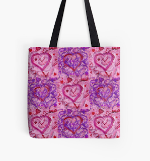 Valentines Bag from RedBubble by Melasdesign