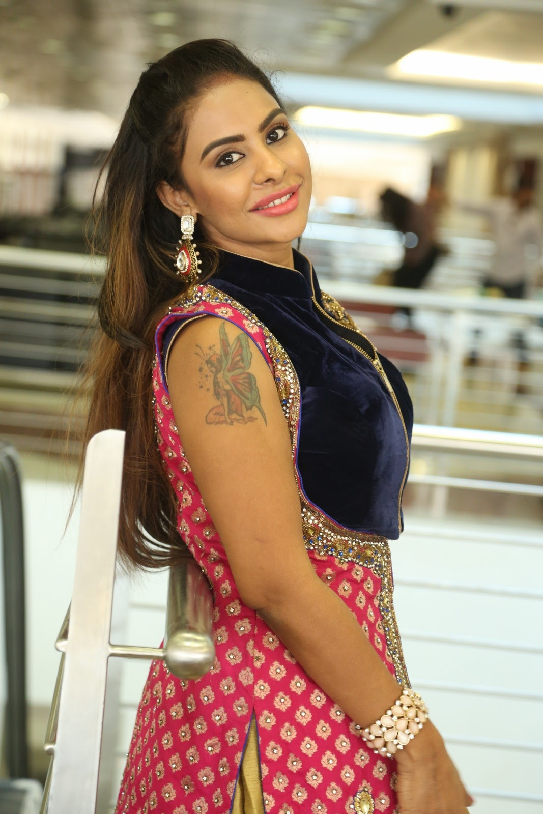 Srilekha reddy new glam photos-HQ-Photo-2
