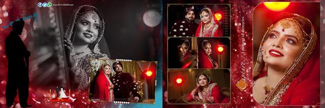 Pakistani Wedding Album Design