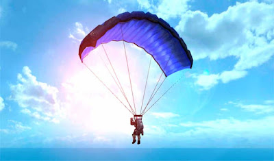 survival game parachute