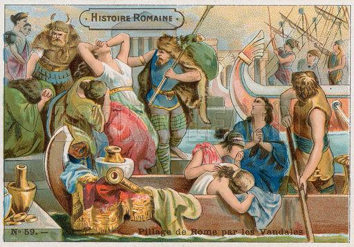 HISTORIA PARA NO DORMIR: 455 : Vándalos ; Genserico y Atila.