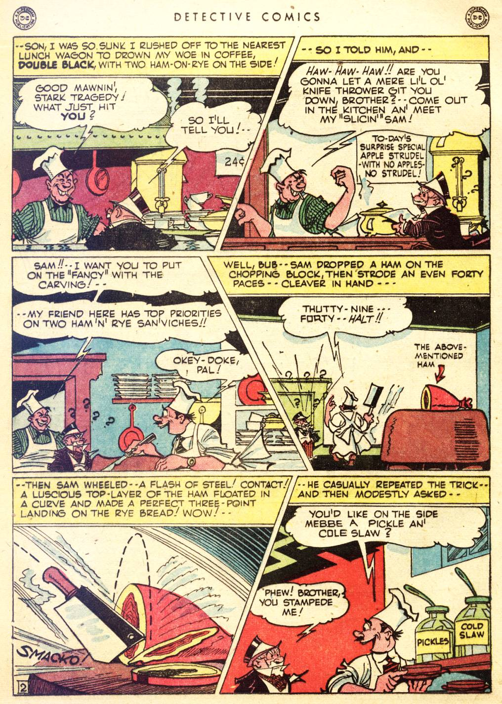 Read online Detective Comics (1937) comic -  Issue #128 - 34