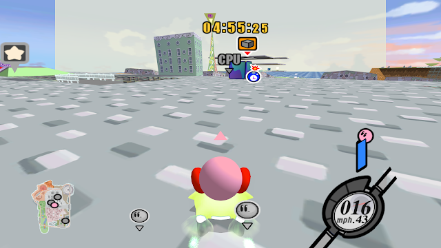 Kirby Air Ride screenshot 1